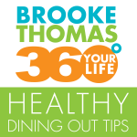 360 Your Life Healthy Dining Out Tips