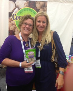 Wonderfully Raw Coco-Roons CEO and Macaroon Maven, Sequoia Cheney and Brooke at the Natural Products Expo East