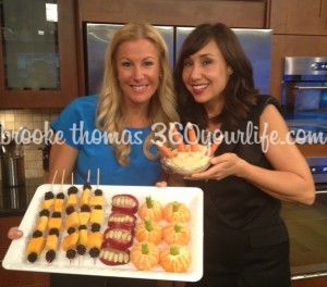 I had so much fun on Charlotte Today as usual with my good friend, Colleen sharing these FUN and SIMPLE HEALTHY recipes!