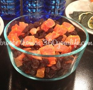 Cemetery Fruit Mix - Dried Papaya and Raisins