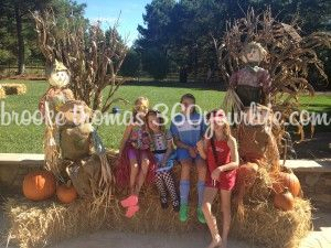 Scarecrows and Hay Bails