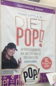 Tony Little Diet Pop from POP! Gourmet Popcorn