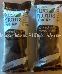 Two Moms in the Raw Almond Butter Cacao Truffles
