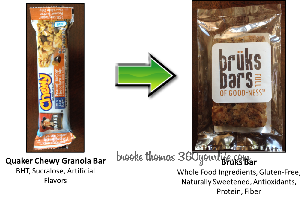 Sports Snacks - Granola Bar Bruks Bar image