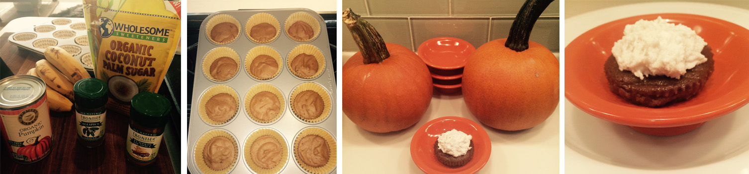 Brooke's Allergy Friendly Pumpkin Pie Cupcake Prep