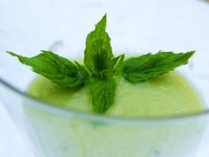 brooke mint smoothie