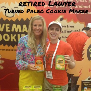 Brooke with Caveman Cookies President and Founder, Stephanie Lester