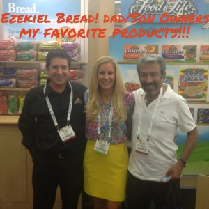 Brooke with Food for Life's Gary Torres and Jim Torres at the Natural Products Expo East
