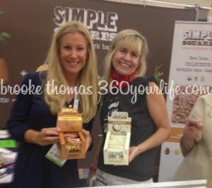 Brooke with Simple Squares founder Kimberly Crupi Dobbins