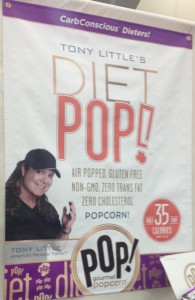 Tony Little Diet Pop from POP! Gourmet Popcorn
