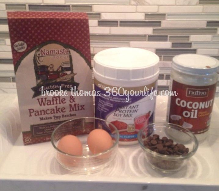 Brooke's Gluten-Free Pancake Ingredients
