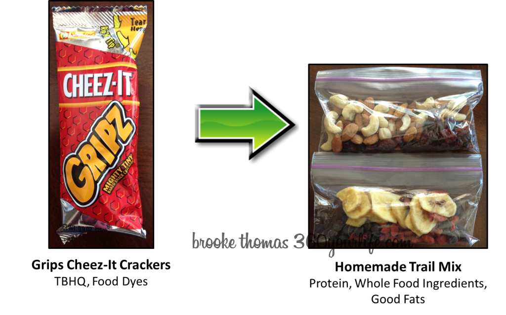 Sports Snacks - Grips Cheez-Its Trail Mix image