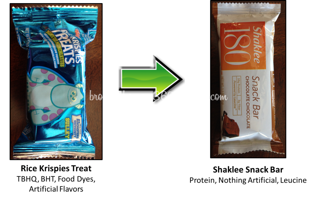 Sports Snacks - Rice Krispies Treat Shaklee Bar