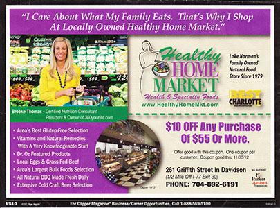 Healthy Home Market Ad